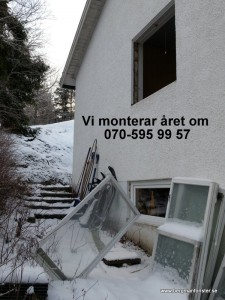 Fönsterbyte vinter 070-5959957