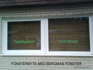 DK+F Bergman Fönster Pvc