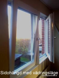 Nya fönster i Tumba
