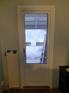 Nya fönster monterat och klart