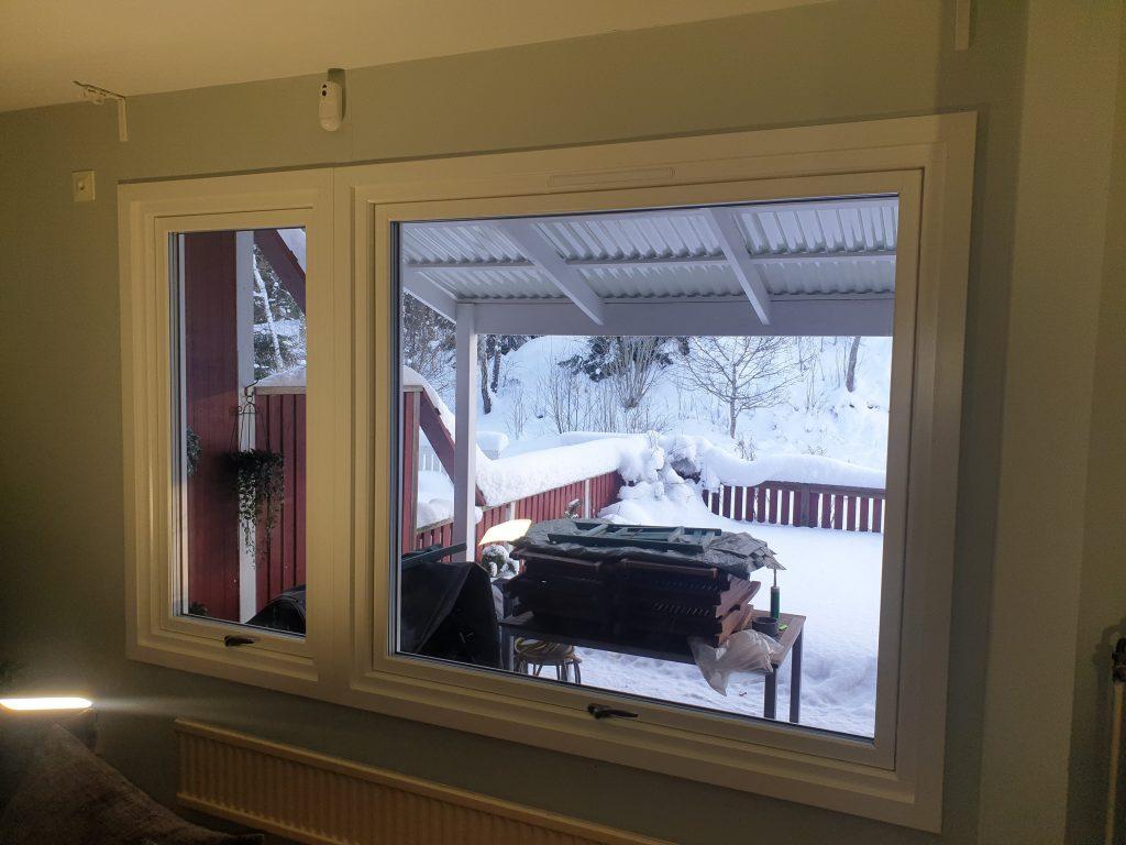 Nya fönster i Haninge